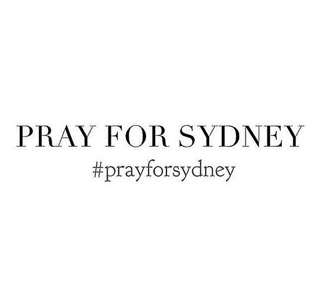 pray for sydney