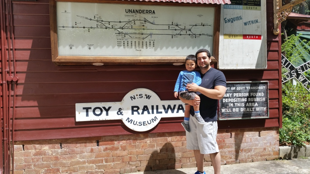 Toy and Railway Museum 1 - Josh and Nicholas