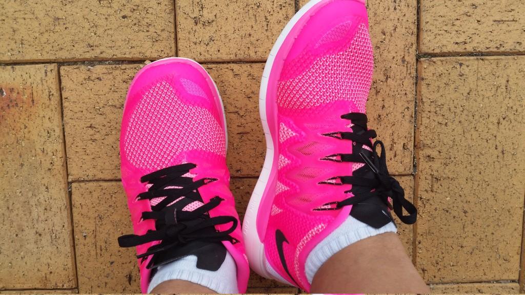 Rasnier Family - Nike Pink Shoes